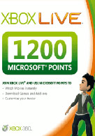 1200 points microsoft