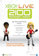 2100 points microsoft