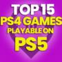 15 des meilleurs jeux PS4 jouables sur PS5 et comparez les prix