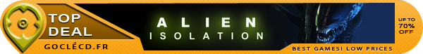 Acheter Alien Isolation moins cher