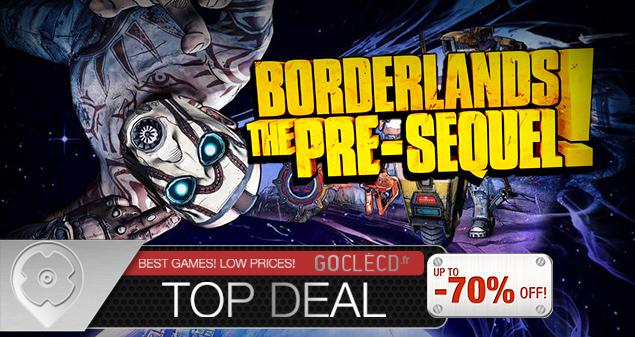 Acheter Borderlands The Pre-Sequel cle cd au meilleur prix