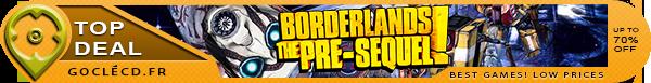 Acheter Borderlands The Pre-Sequel pas cher