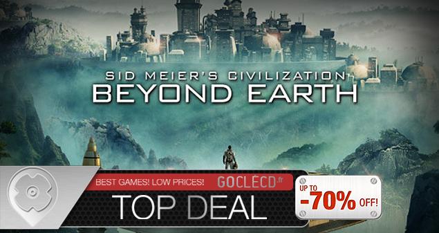 Acheter Civilization Beyond Earth moins cher