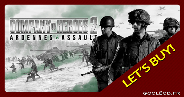 Acheter Company of Heroes 2 Ardennes Assault