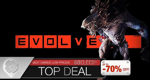Acheter Evolve moins cher