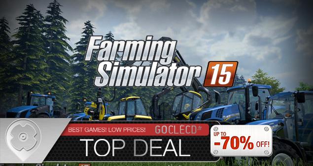 Acheter Farming Simulator 15 au meilleur prix