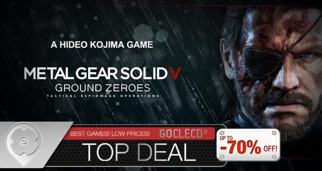 Acheter Metal Gear Solid 5 Ground Zeroes Clé CD