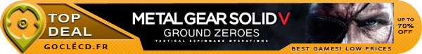 Acheter Metal Gear Solid 5 Ground Zeroes Clé CD
