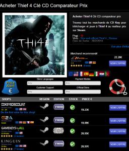Acheter Thief 4 Clé CD au meilleur prix