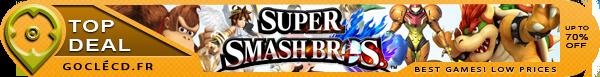 Acheter cle cd Super Smash Bros moins cher