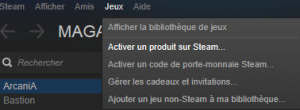 Activer Etherium sur Steam