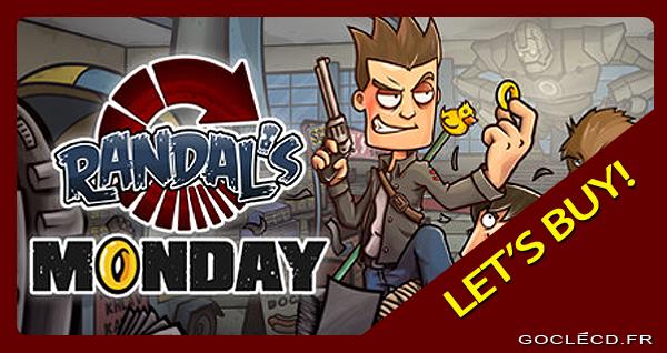 Activer une clé Randal's Monday sur Steam