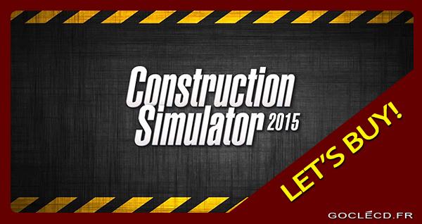 Activer une clé Construction Simulator sur Steam