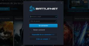 Activer une clé sur battlenet