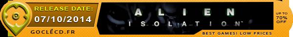 Alien Isolation au meilleur prix