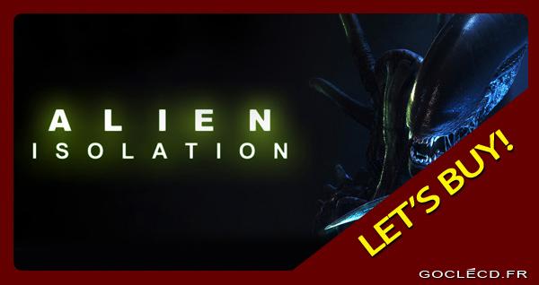 Alien Isolation clé cd