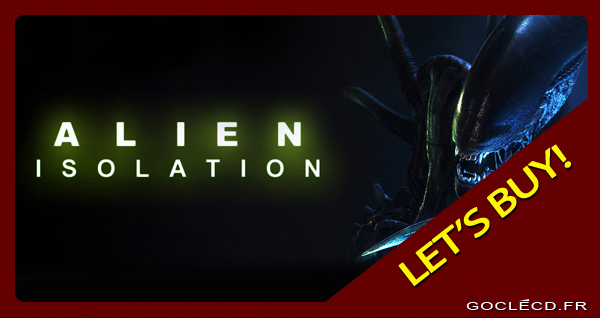 Alien Isolation clé cd