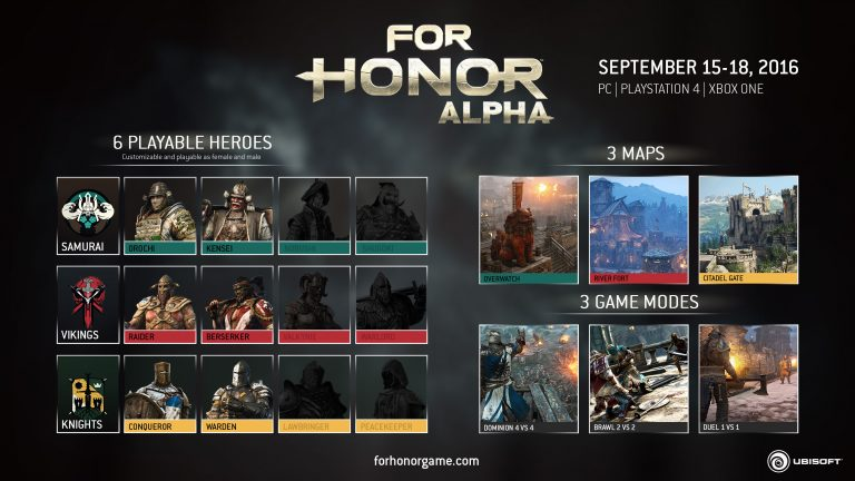 alpha For Honor