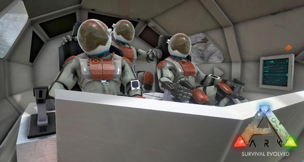 Ark Survival Evolved sur la Lune