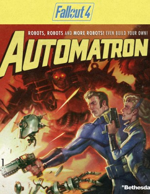 Fallout 4 Automatron add-on est enfin là !