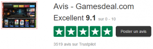 Avis gamesDeal.com