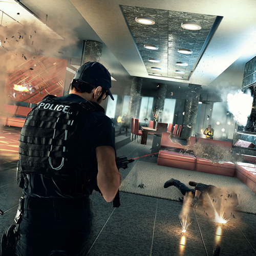 Battlefield Hardline Xbox One Mode Sauvetage