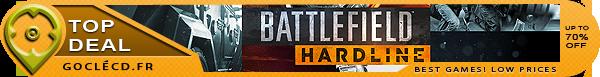 Battlefiel Hardline Pas cher