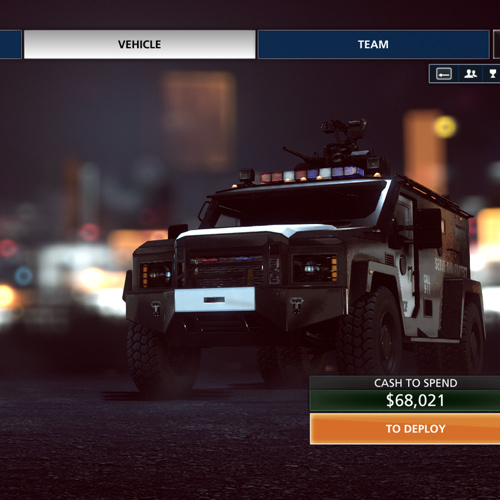 Battlefield Hardline Xbox One - Vehicule de Police blindé