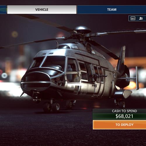 Battlefield Hardline - Helicoptère