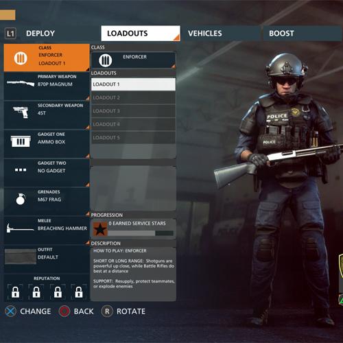 Battlefield Hardline Xbox One Exécuteur