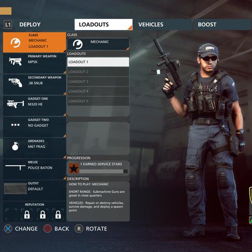 Battlefield Hardline Xbox One Mécanicien