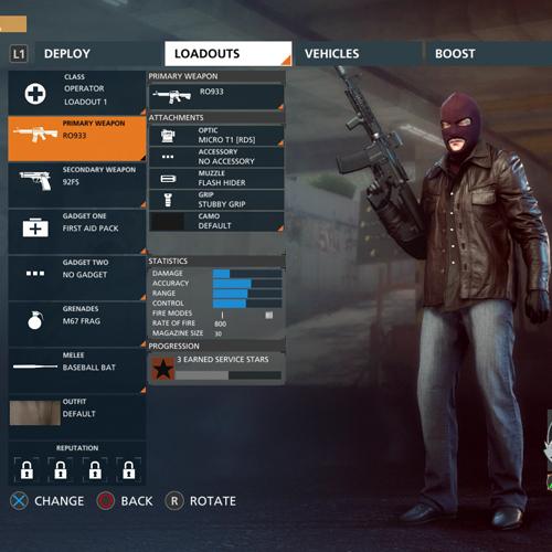 Battlefield Hardline Opérateur