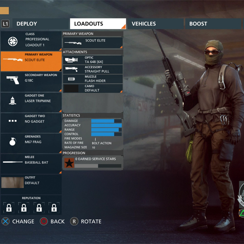 Battlefield Hardline PS4 Professionnel