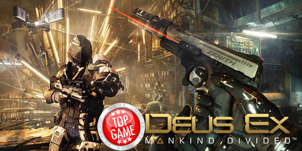 bonus de pré-commande Deus Ex Mankind Divided
