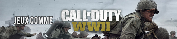 Jeux comme Call of Duty WW2