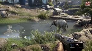 Chasse à l'éléphant Far Cry 4