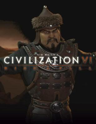 Civilization 6 Rise and Fall va voir le retour de Gengis Khan et des mongols