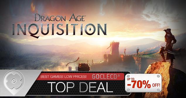 Clé cd Dragon Age Inquisition pas cher