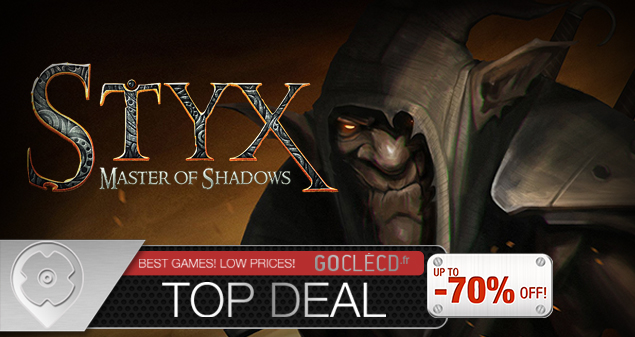 Clé cd Styx Master of Shadows pas cher