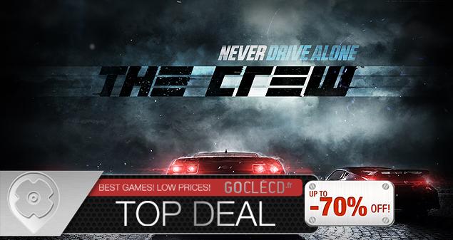 Clé cd The Crew moins cher