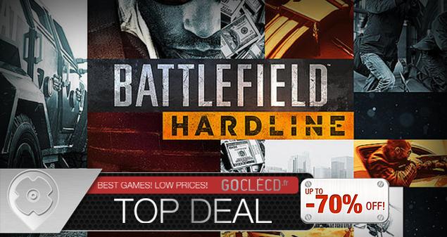 Cle cd Battlefield Hardline au meilleur prix