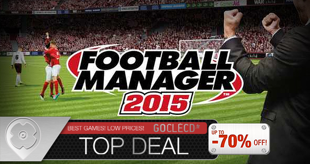 Cle cd Football Manager 2015 moins cher