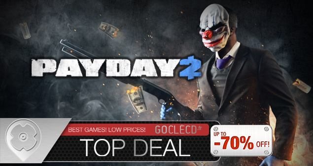 Cle cd Payday 2 pas cher