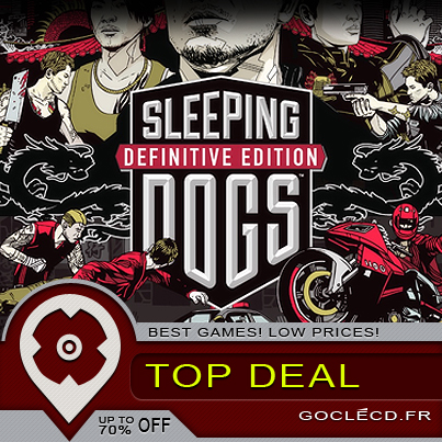 Sleeping Dogs Definitive Edition : plus beau, moins cher