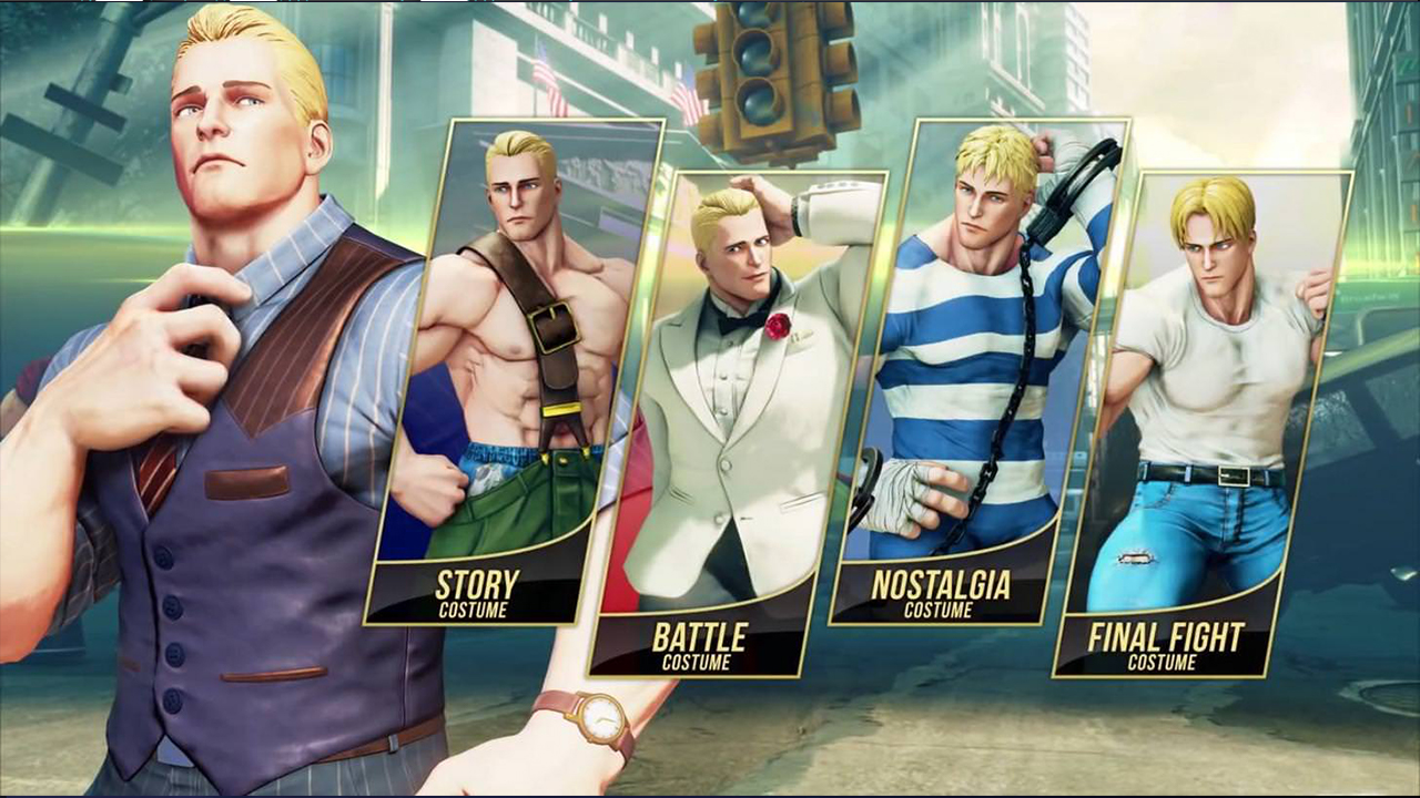 Street Fighter 5 Cody
