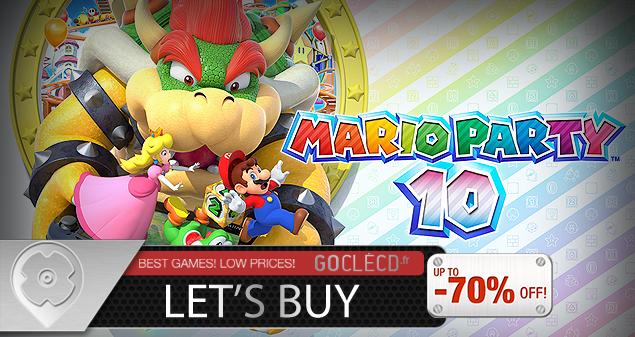 Comment acheter Mario Party 10