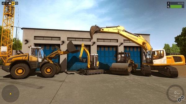 Construction Simulator 2015  engins de chantier
