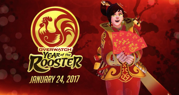 nouvel an chinois d'Overwatch