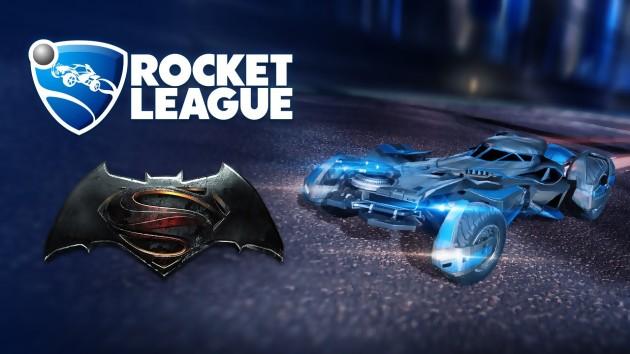 Rocket League : DLC Batman Vs Superman : Dawn of Justice