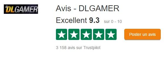 Dlgamer.fr Trustpilot